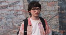 Finn Wolfhard as Richie Tozier.