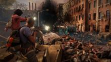 Run through city streets and take the high ground in World War Z