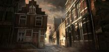 A city in a colonial town on Teer Fradee
