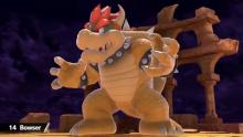 Bowser ready for battle