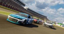 The Charlotte Roval is fully playable in NASCAR Heat 3.