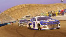 Chase Elliott goes for his second win in NASCAR Heat 3!