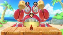 Crab Minigame in Super Mario Party