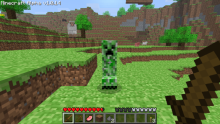 Creepers were initially pigs, until the model got messed up.