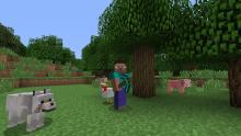 Collecting resources is a large part of Minecraft.