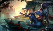 Yasuo, the Unforgiven, fights to restore honor lost.