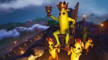 The peels are taking over the Fortnite world.
