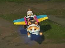 The one and only Corgi Corki, in all of his fluffy, adorably glory.