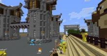 Join Factions and role-play in the Towny side of the server.