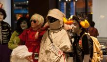 Some of the Homestuck crew