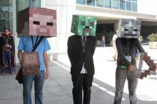 Some impressive Minecraft mob cosplay!