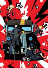 The Phantom Thieves are ready to go, with Mona providing transport in his vehicle form