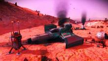 This crashed ship is just one of many that can be found in the game - entirely for free (if you don't count the hours you'll spend looking for them).