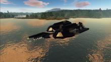 Find these huge ships crashed in the wild for some serious resources and workstations.