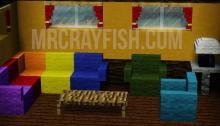 Furniture from MR. Crayfish's Furniture Mod