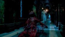 A bloody ghost follows Edith