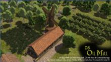 Place a food mill near your crops and orchards.