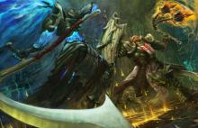 Watch the Crusader take on the evil Maltheal