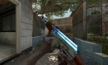 Even with dozens of skins available for the AK, Case Hardened AKs add even more variability