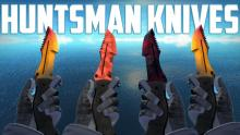 Something about these knives tend to make me feel like I'm Rambo running into battle and because of that, the Huntsman weapon case is top on my list!