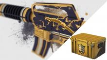 Look at just one of the many awesome weapon skins you can get in a CSGO case!