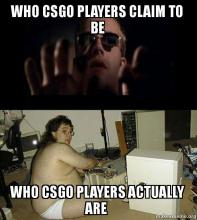 We all feel big behind the keyboard in CSGO but this meme hits a little close to home