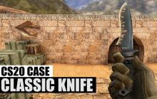 Looks like a kitchen knife.