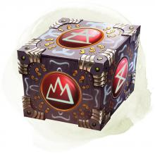 Use this cube to make portals as you please. Coming or going, bringing or sending.