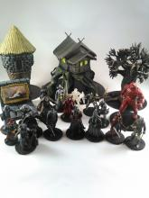Various minis specific to Curse of Strahd, a Wizards of the Coast campaign.