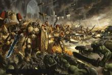 Custodes vs. Orks