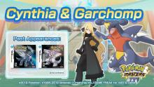 Sinnoh Champion Cynthia and Garchomp are ready for action!