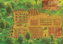 A Stardew Valley inspired wallpaper created by a member of the community!