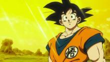 Goku on Planet Vampa