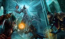 Two Wizards and Demon Hunter find Malthael with the Soul Stone!