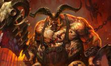 The Butcher - one of the first Bosses faces in Diablo 3
