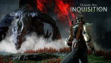 This dual wielding rogue inquisitor faces off against a mighty dragon