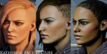 Katherine Face texture