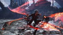Look at how Dante switches between the 3 King Cerberus versions