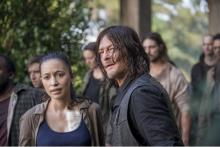 Norman Reedus as Darly Dixon.