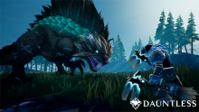 A promotional image for Dauntless.