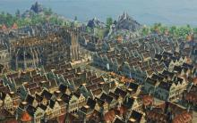 A sprawling city in Dawn of Discovery
