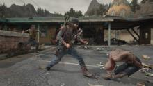 Nothing helps you carve your way through cannibalistic infected quite like a giant blade.