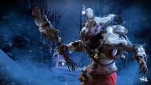 Roleplaying as Krampus to punish Survivors, from the Holiday Horror Collection.