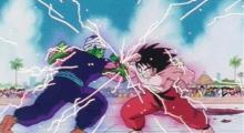 The iconic fight between Goku and Piccolo