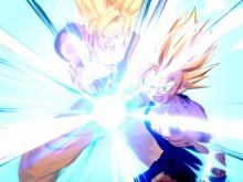 Gohan defeating Cell aided by Goku
