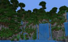 This is a highly mountainous biome with chunks of floating rocks that defy gravity.