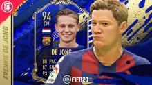 A TOTY card shows just how good De Jong is.