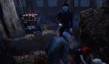 Bill and his partner are caught cleansing the totem by Michael Myers.