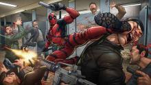 Deadpool artwork by Patrick Brown
