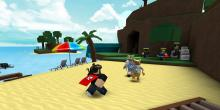 Roblox is a Lego-like version of Minecraft. And you can realy go to the beach!